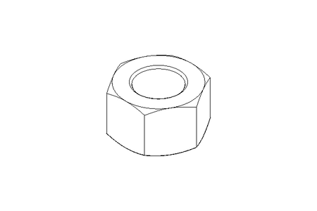 Hexagon nut M16 1.4571 DIN934