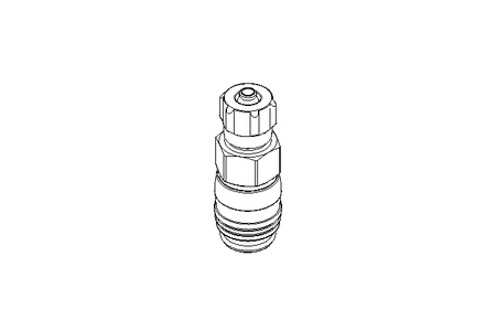 Quick coupling socket KD3-CK-4