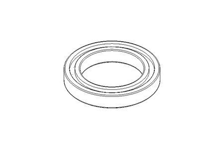 Deep groove ball bearing 6020 2RS 100