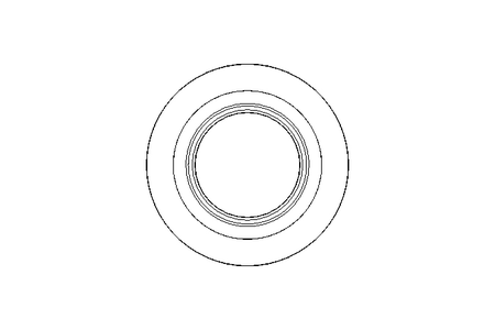 GLYD sealing ring PT 24.5x32x3.2 PTFE