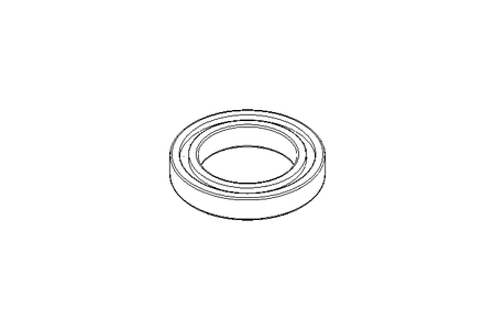 Deep groove ball bearing 6018 2RS 90x140