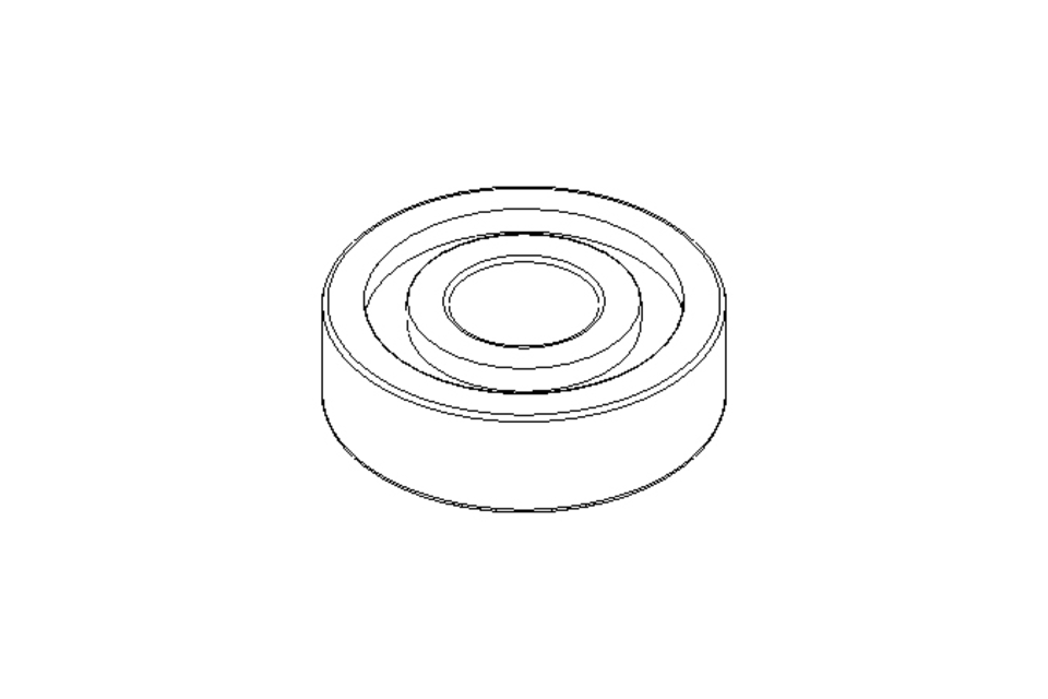 Deep groove ball bearing 609 2RS 9x24x7