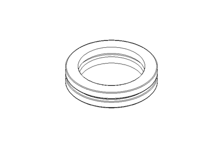 Deep-groove thrust ball bearing 51111 55