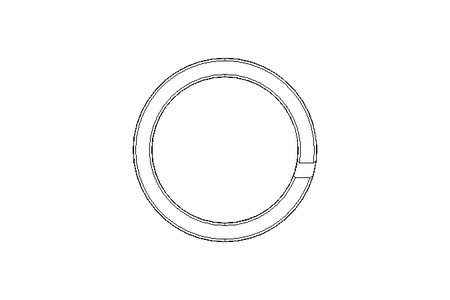 Guide ring GR 20x25x5.6 PTFE