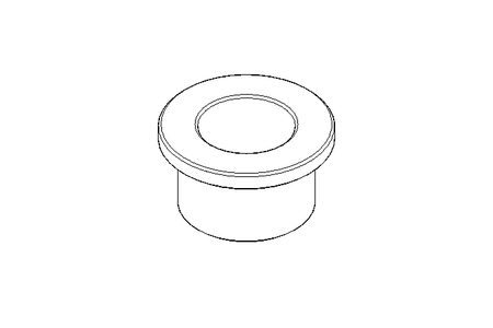 Plain bearing bush V 15x21x27x15x3