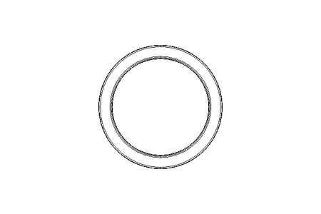 Wiper ring A1 30x38x7 NBR