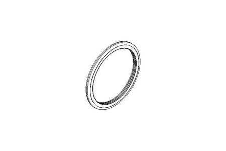 GLYD sealing ring TG32 56x67x4.2
