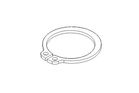 Retaining ring 20x1.2 A2 DIN 471