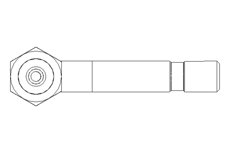 HOSE CONNECTOR  SHORT  90°  532-31819-1