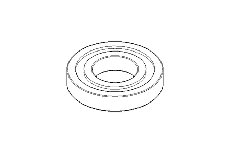 Deep groove ball bearing 16004 20x42x8