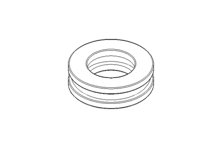 Deep-groove thrust ball bearing 51103 17