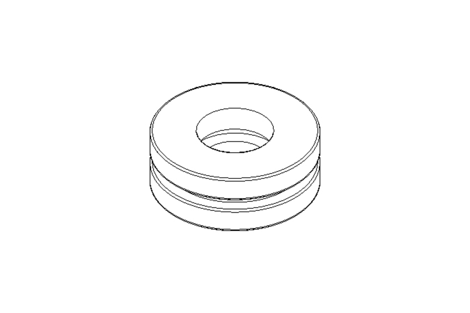 Deep-groove thrust ball bearing 51100 10