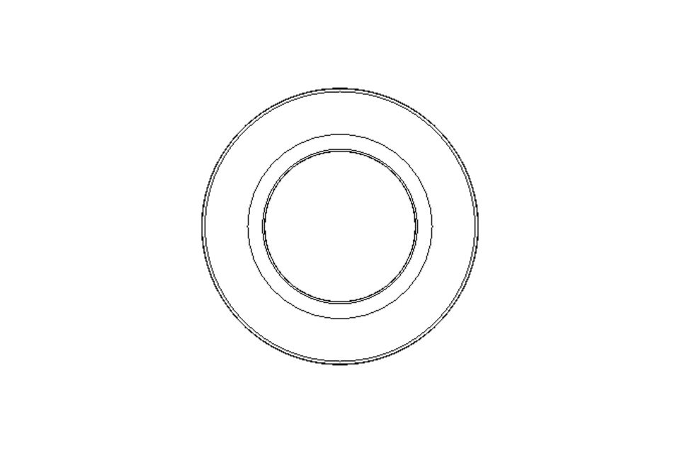Deep-groove thrust ball bearing 52213 55