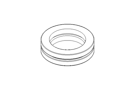 Deep-groove thrust ball bearing 51218 90