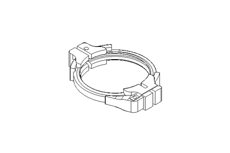 CLAMPING RING  DN100
