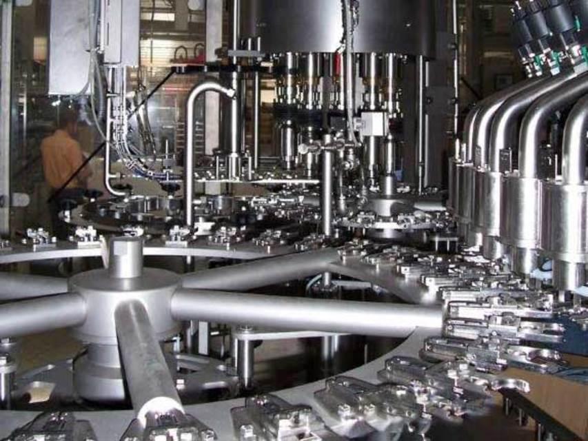 二手灌装机 vodm-l-pet 克朗斯图片