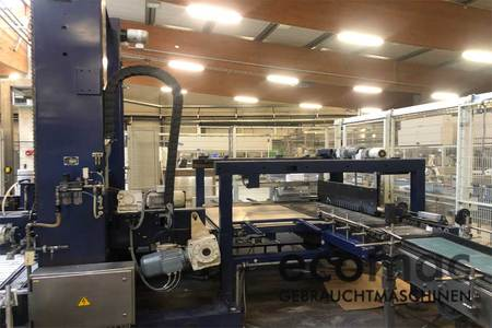 Used filling line for cans